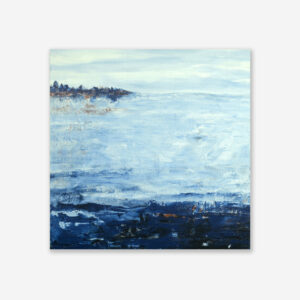 Abstract Water Art Lake Reflection IX