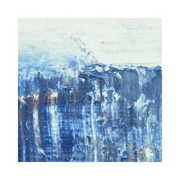 Closeup of Jem 120 Contemporary Water Art