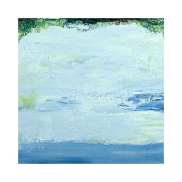 Closeup of Lake Reflection I Water Art