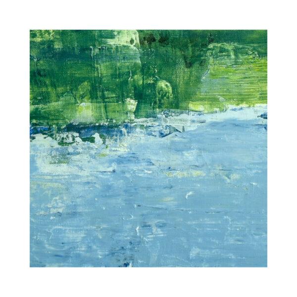 Closeup of Lake Reflection IV Water Art
