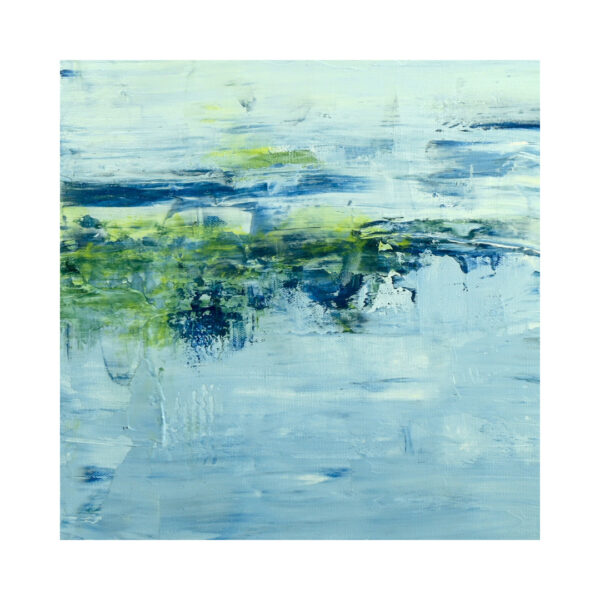 Closeup of Lake Reflection VII Water Art