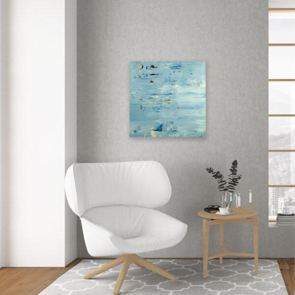 Contemporary Water Art Lake Reflection VIII