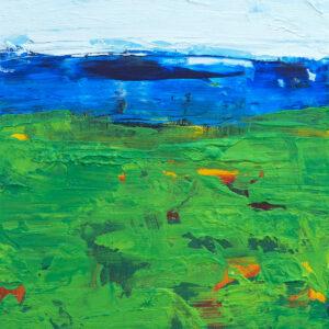 Abstract Golf Art on canvas